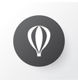 air balloon icon symbol premium quality isolated vector image