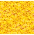 background with yellow triangles vector image