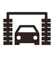 Car wash icon vector image vector image