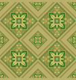 geometrical ornament in the hungarian style vector image