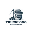 Logo truck and trailer