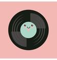 music vintage icon design vector image vector image