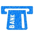 Banking ATM Grainy Texture Icon vector image vector image