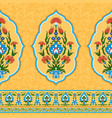 colorful ornamental pattern in eastern style vector image vector image