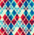 crystal mosaic seamless pattern vector image vector image