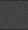 dark circles geometric pattern - seamless vector image