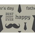Father s day greeting seamless pattern template vector image vector image