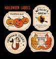Halloween bottle labels potion labels