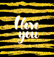 i love you card design vector image vector image