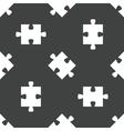 Puzzle piece pattern vector image vector image