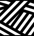abstract black white modern print vector image vector image