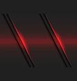 abstract red lines light pattern slash dark grey vector image vector image
