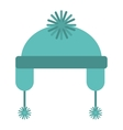 christmas hat isolated icon vector image vector image