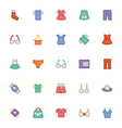 Clothes Icons 1 vector image vector image