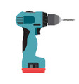 drill icon cordless electric driver power tool vector image