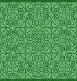 Green pattern with linear swirls