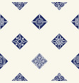seamless background with mediterranean pattern vector image vector image