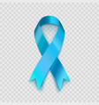 stock blue ribbon isolated on vector image