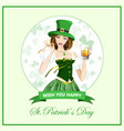 stpatrick s day vector image vector image