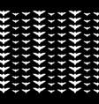 bats pattern vector image