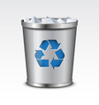 Recycle Bin Icon vector image vector image
