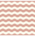 Seamless Wave pattern for wedding in brown vector image vector image