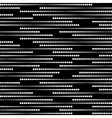 Stripes of Halftone Dots Seamless Pattern vector image vector image