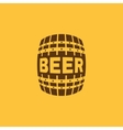 The Beer icon Cask and keg alcohol Beer symbol vector image vector image