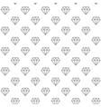 unique digital diamonds seamless pattern vector image vector image