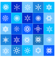 007 Christmas Snow Flakes 003 vector image vector image