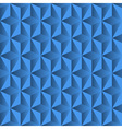 Blue background from pyramids vector image vector image
