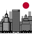 city sushi vector image vector image