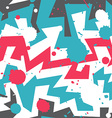 graffiti stripes with blob effect vector image