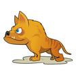 hyaenodon vector image vector image