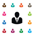 isolated male icon person element can be vector image vector image