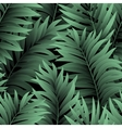 Leaves of palm tree Seamless pattern vector image vector image