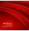 Red Template Abstract background with vector image vector image