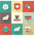 sheep set vector image vector image
