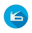 Stapler clip icon Repair fix connection vector image vector image