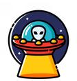UFO vector image