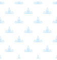 white house pattern seamless repeat for any vector image