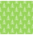 Seamless background with hand drawn christmas vector image