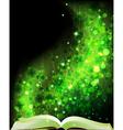 Fairy tales book vector image