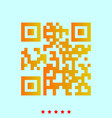 qr code it is icon vector image
