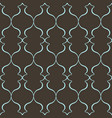 seamless pattern with art ornament