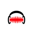 sound logo vector image