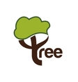 Tree icon Nature and plant design graphic vector image vector image