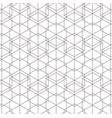 white and black background geometric pattern vector image
