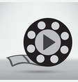 video reel vector image