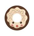 delicious cookie Cartoon vector image